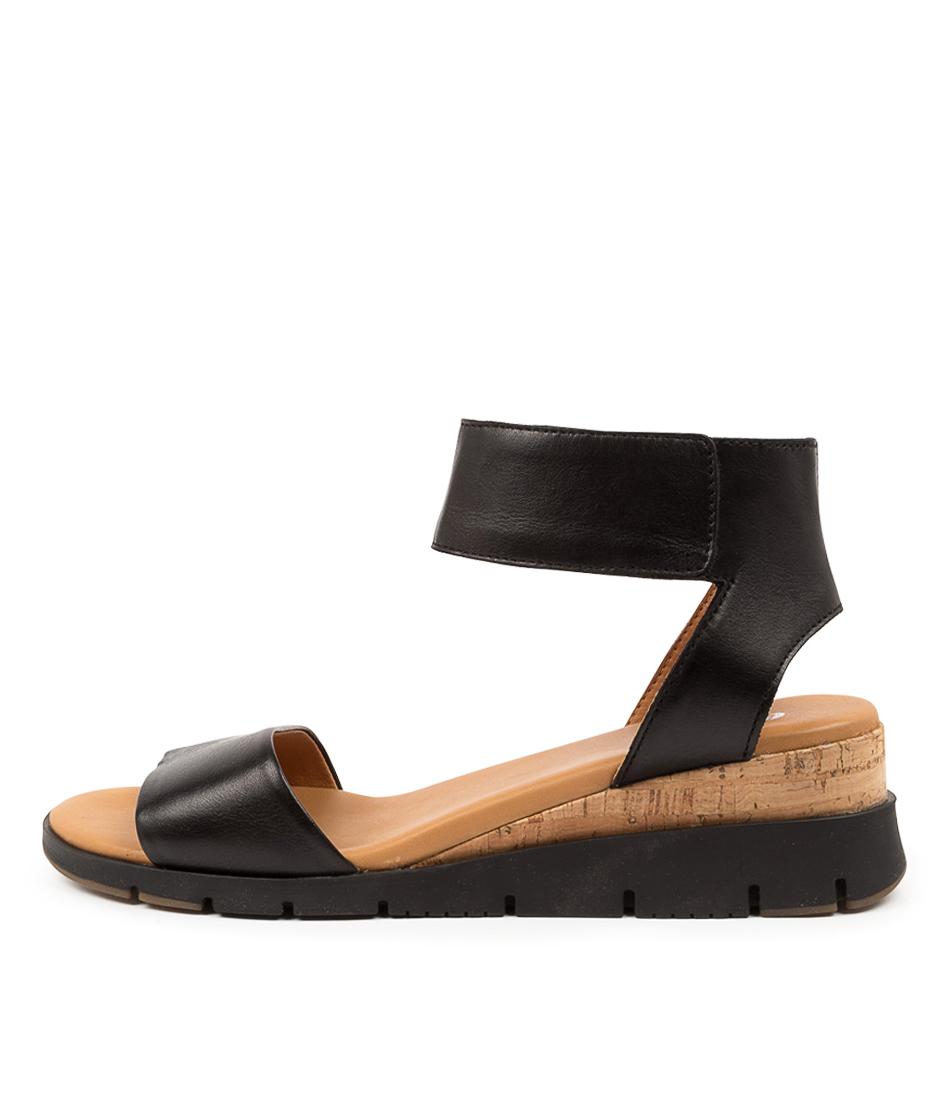Buy Effegie Bassalt W Ef Black Heeled Sandals online with free shipping