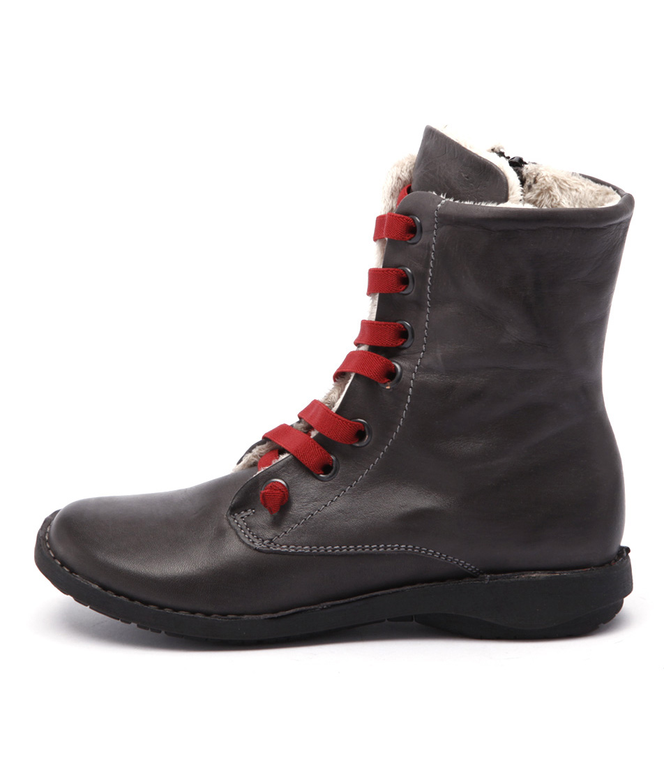 Effegie Sukida W Dark Grey Ankle Boots