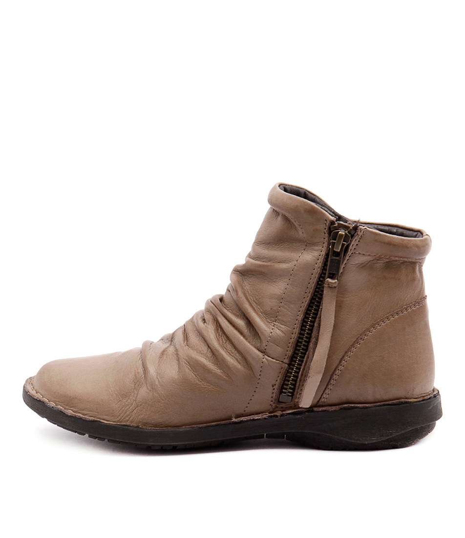Effegie Sukail W Taupe Ankle Boots