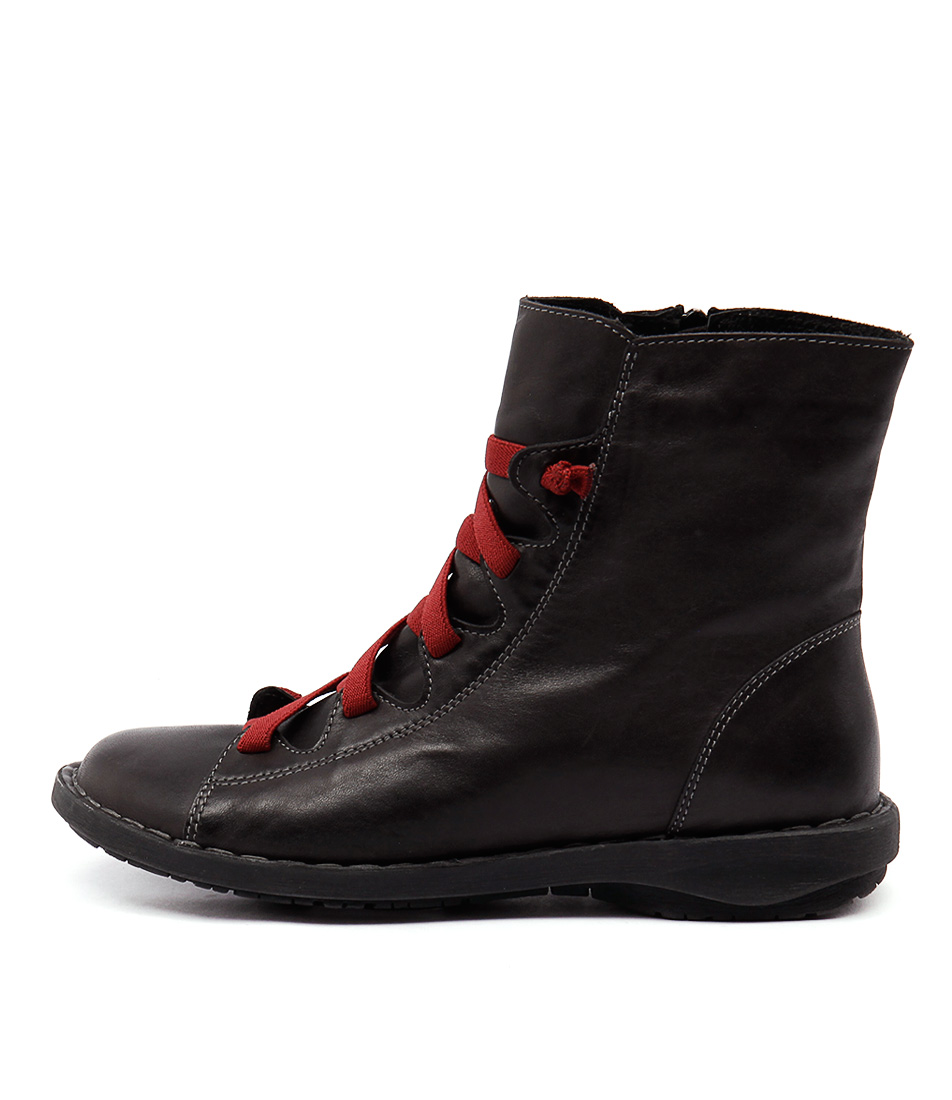 Effegie Subai Dk Grey Ankle Boots