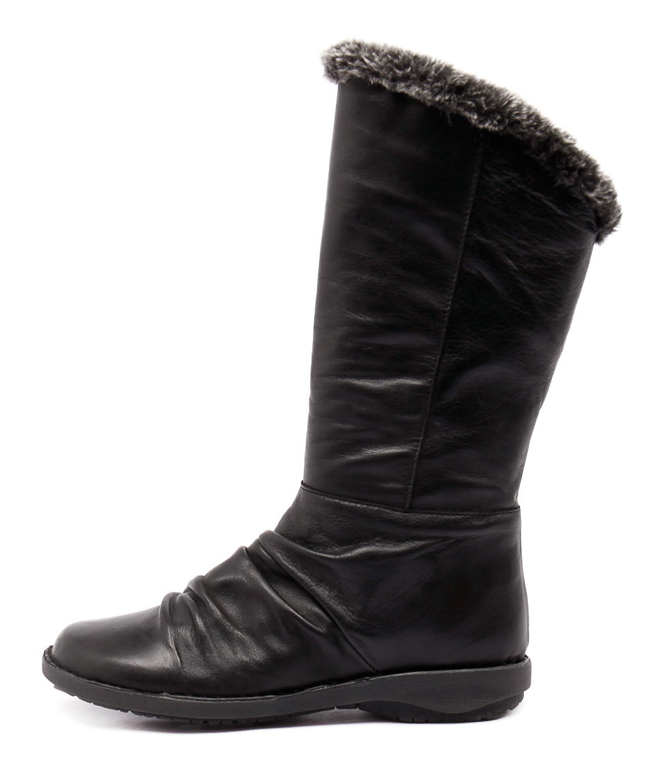 Effegie Sukonia W Black Calf Boots