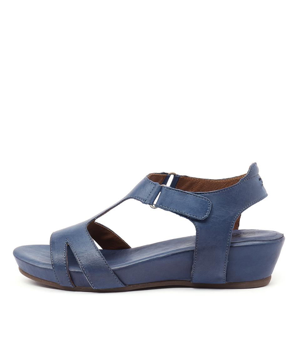 Effegie Renoria Cobalt Heeled Sandals