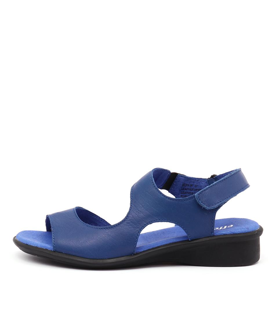 Effegie Bera Ef Cobalt Sandals