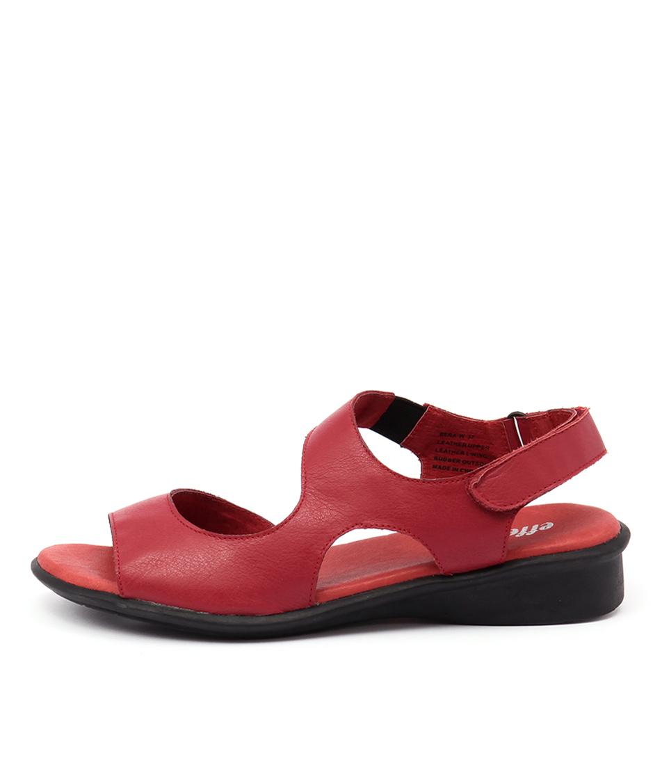 Effegie Bera Ef Red Sandals