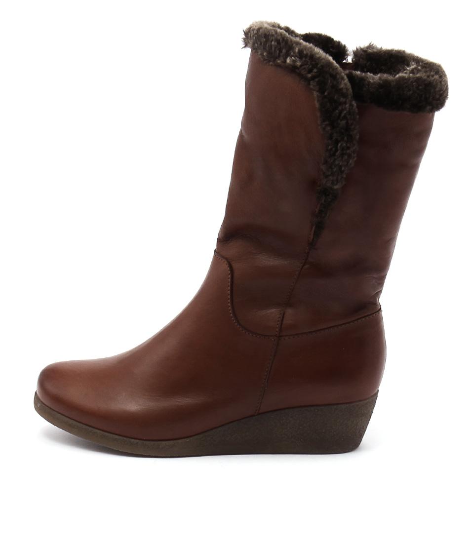 Effegie Ensinia Brandy Calf Boots