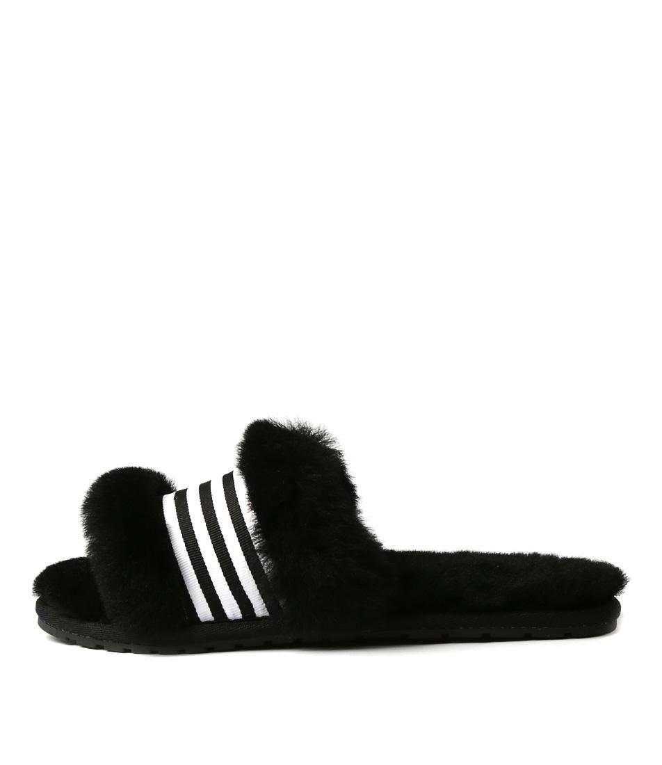 Emu Australia Wrenlette Black Sandals