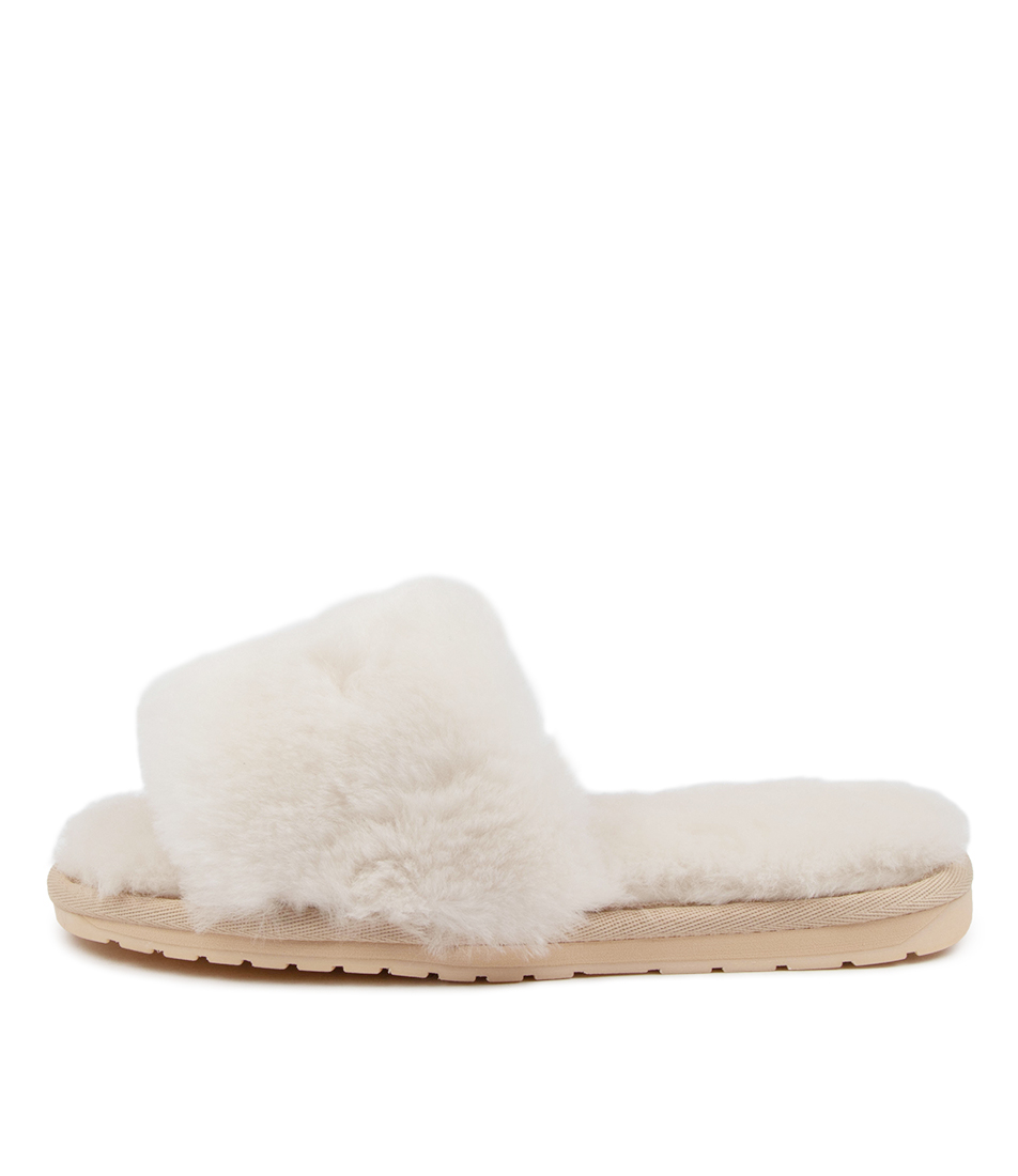 Buy Emu Australia Myna Em Natural Flat Sandals online with free shipping