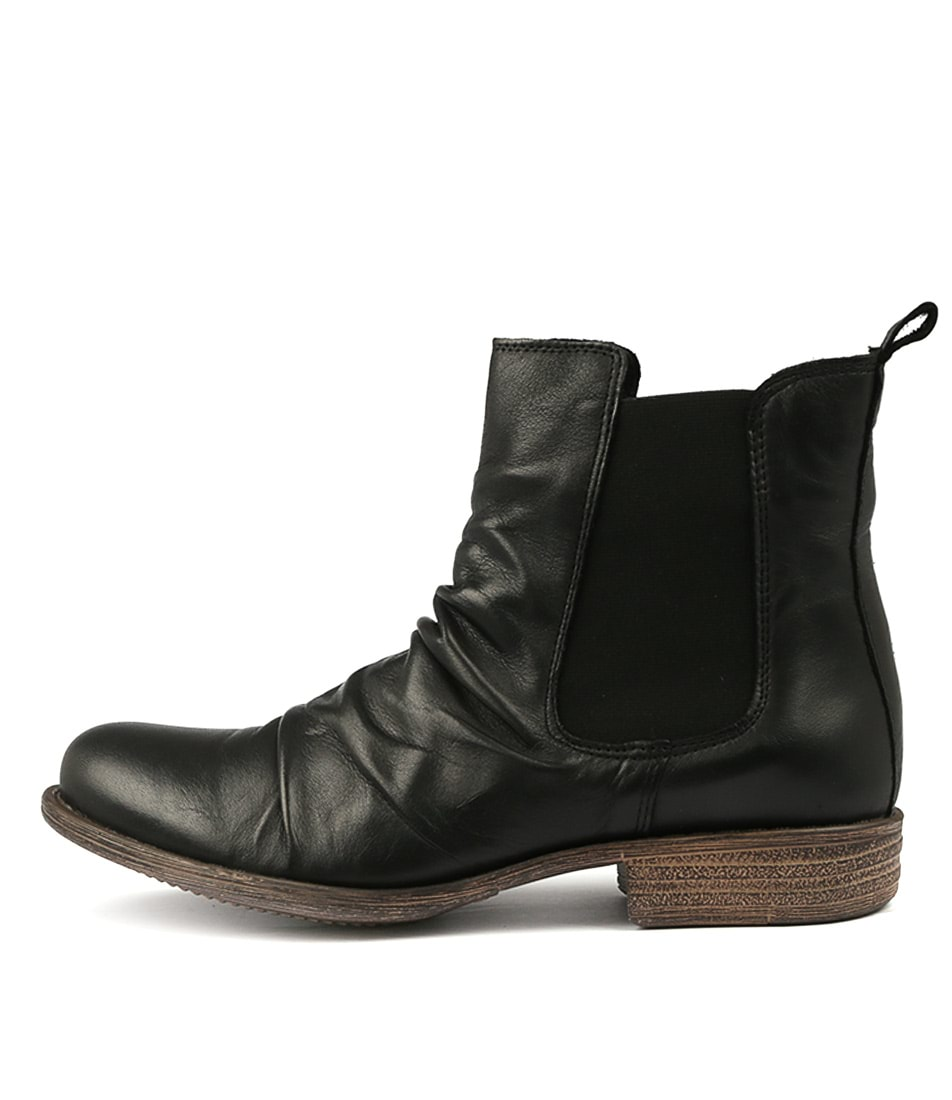 Buy Eos Willo W Black Ankle Boots online with free shipping
