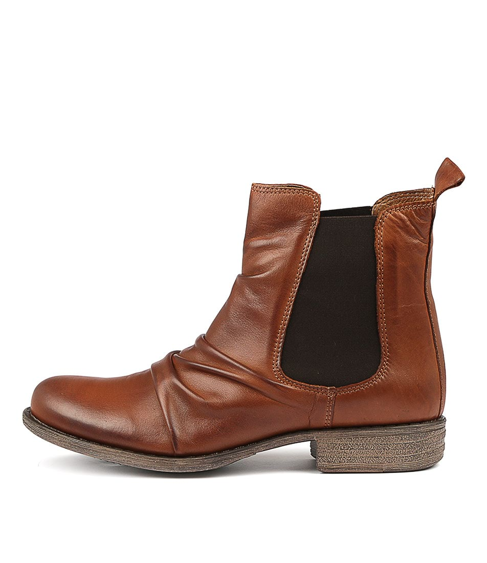 Buy Eos Willo W Brandy Ankle Boots online with free shipping