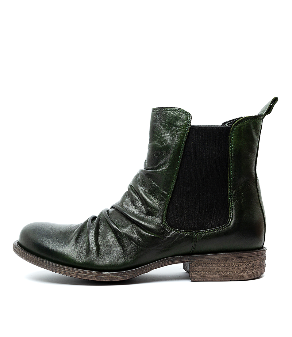 Buy Eos Willo W Forrest Ankle Boots online with free shipping