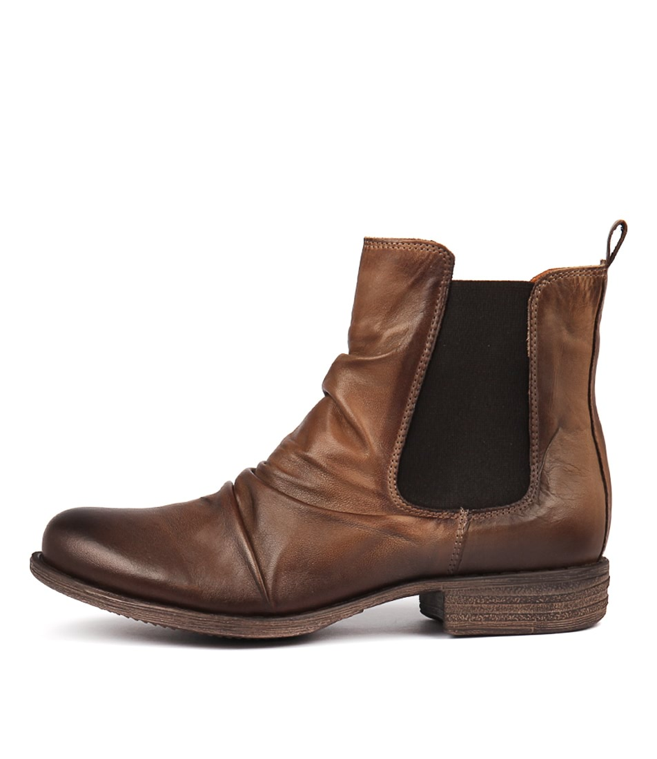 Eos Willo W Antique Taupe Ankle Boots