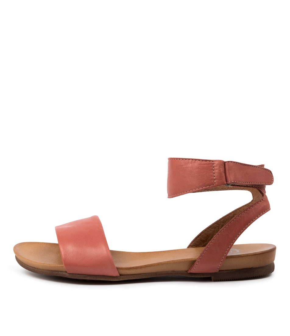 Buy Eos Lauren W Blush Flat Sandals online with free shipping