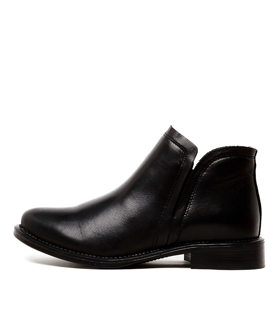 Buy Eos Verity W Black Ankle Boots online with free shipping
