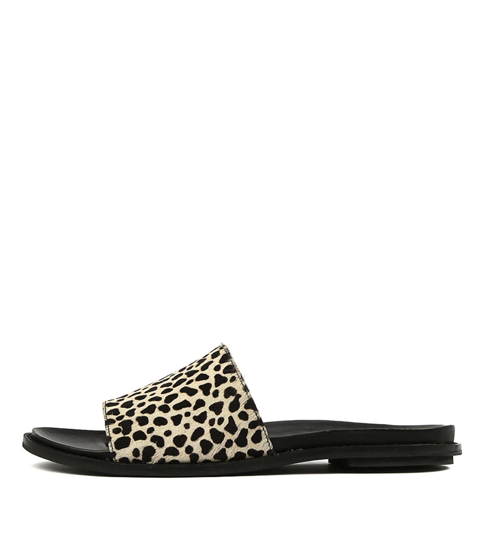 Buy Eos Pillage W Eo Ocelot Flat Sandals online with free shipping