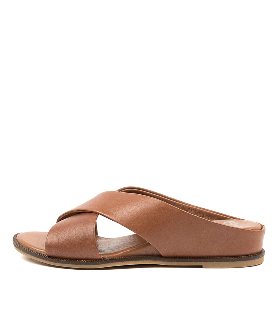 Buy Eos Fleur Eo Brandy Flat Sandals online with free shipping