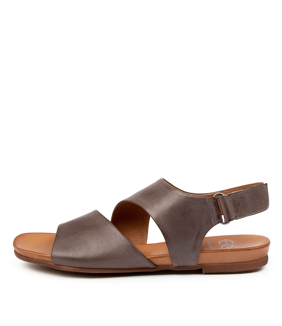 Buy Eos Larnie W Eo Zinco Flat Sandals online with free shipping