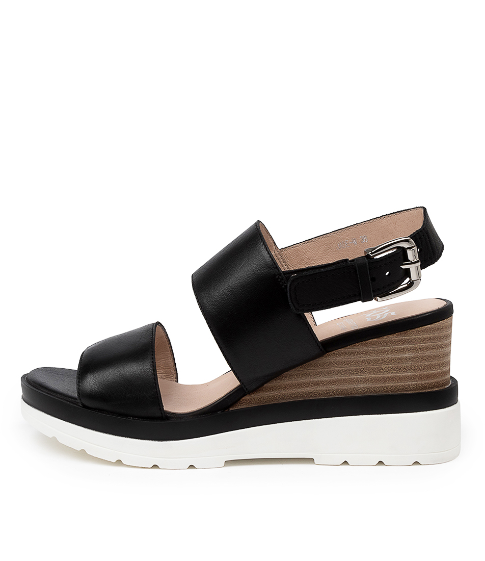 Buy Eos Jade W Eo Black Heeled Sandals online with free shipping