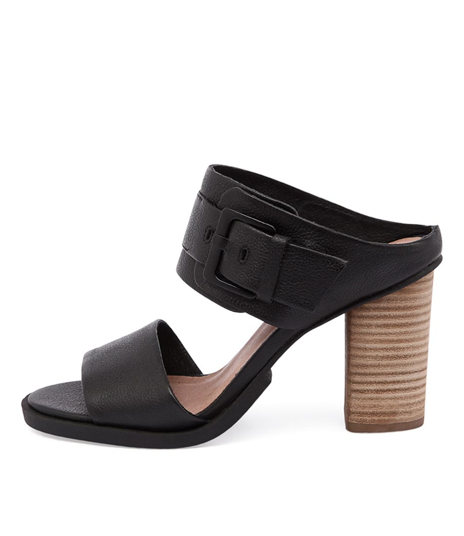 Eos Thero W Black Heeled Sandals