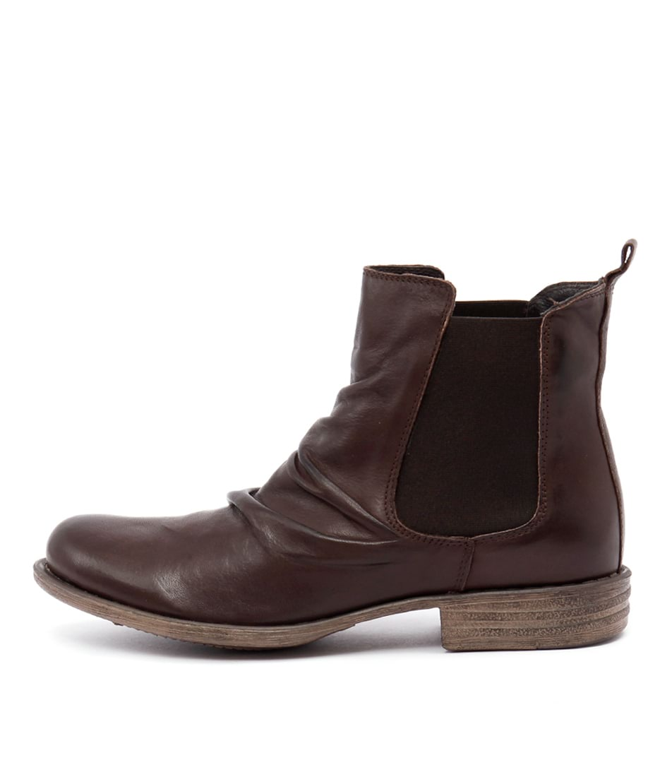 Eos Willo W Ebano Casual Ankle Boots