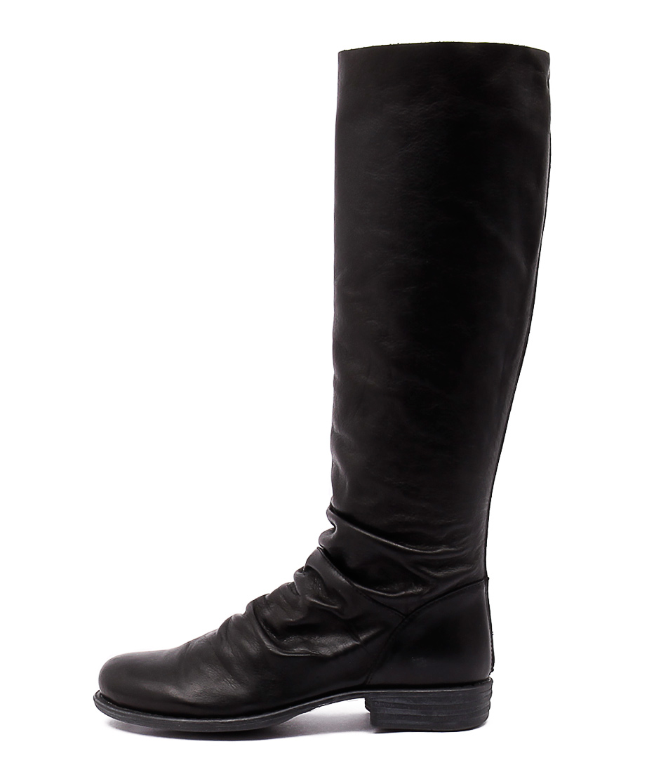 Eos Wildos W Black Casual Long Boots
