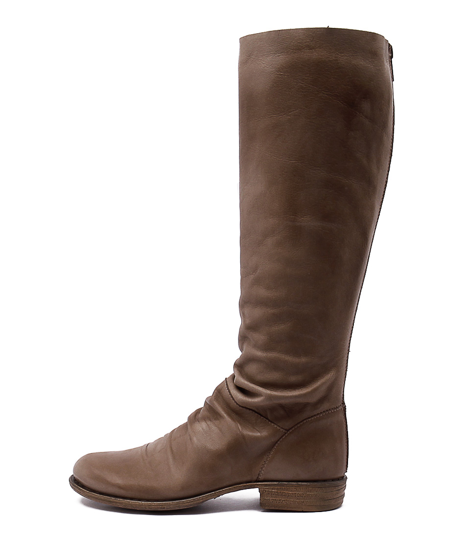 Eos Wildos W Taupe Casual Long Boots