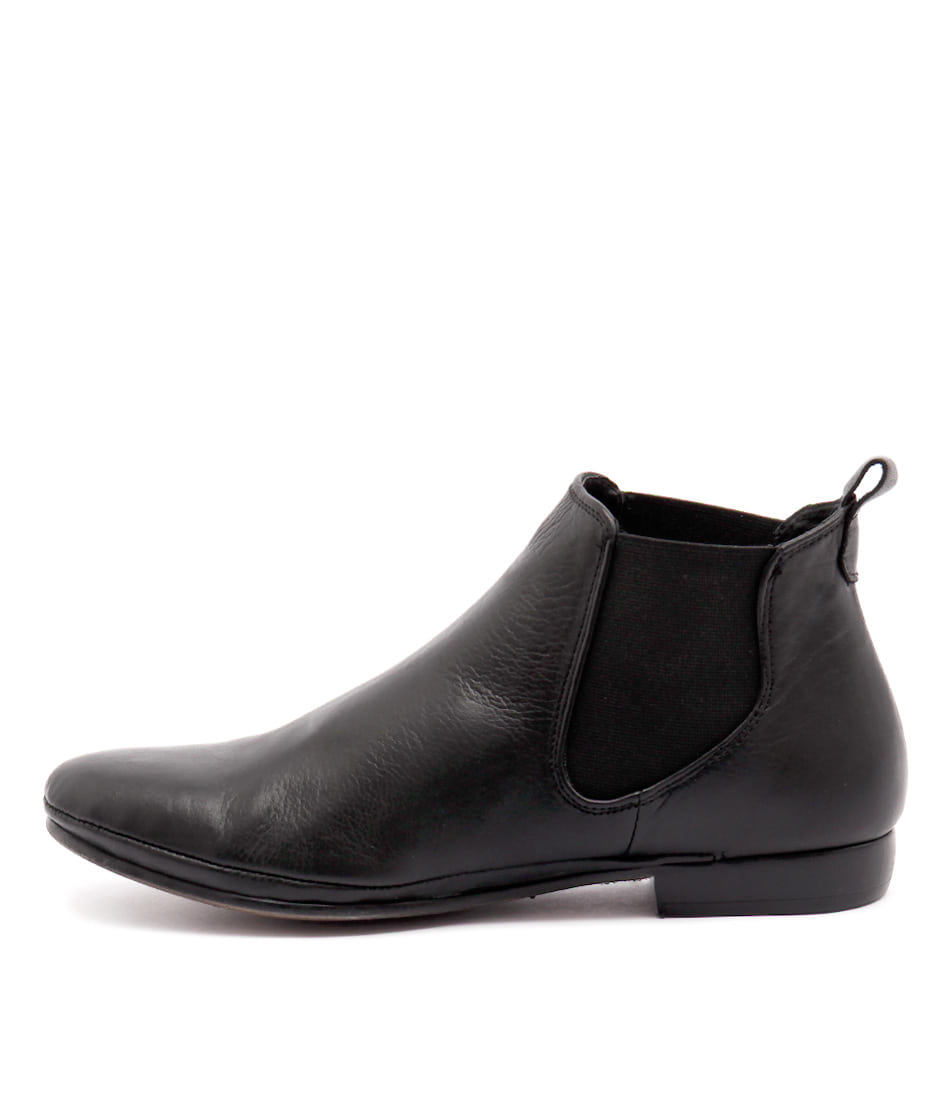 Eos Nila W Black Casual Ankle Boots