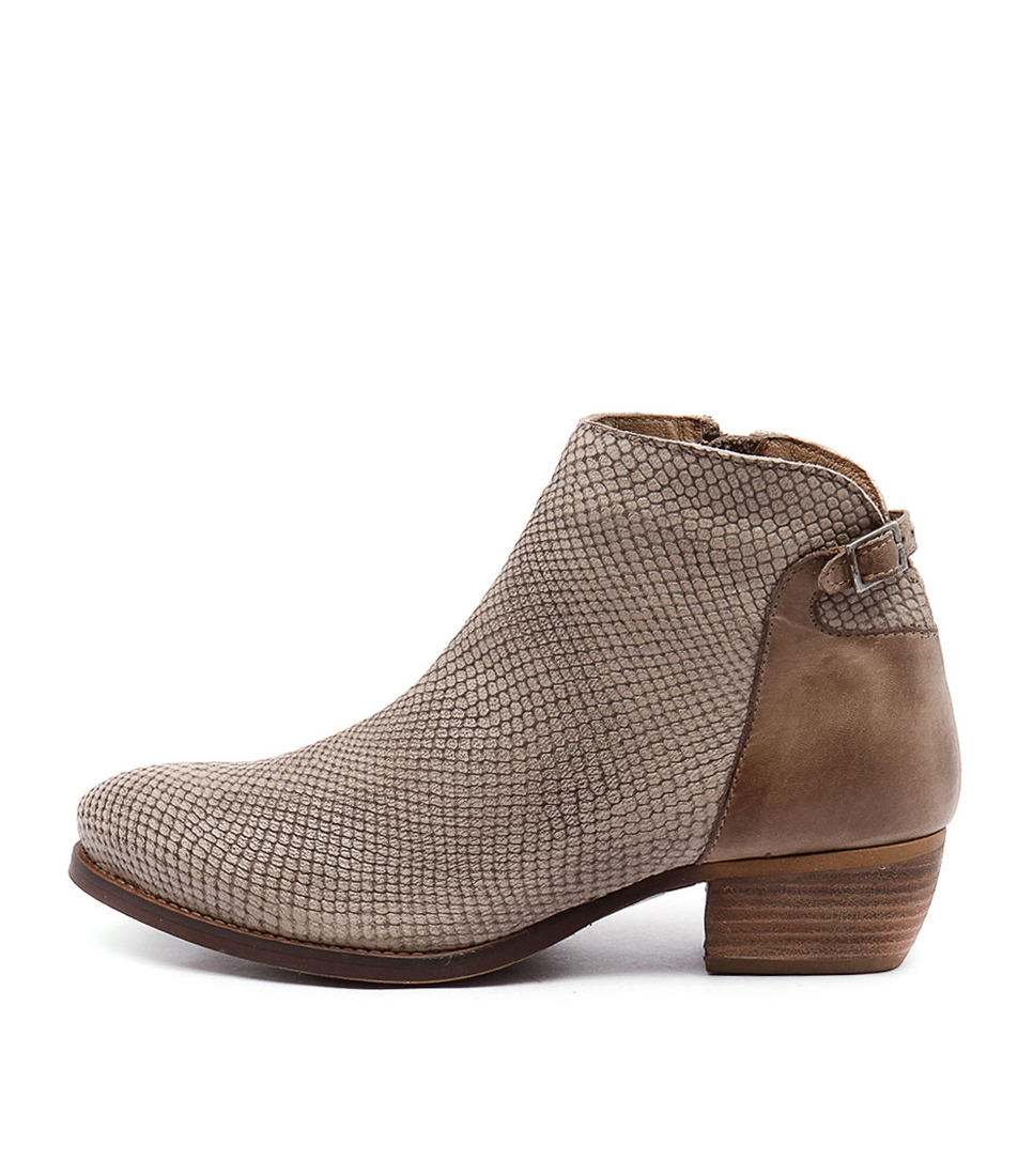 Eos Erisa Taupe Ankle Boots