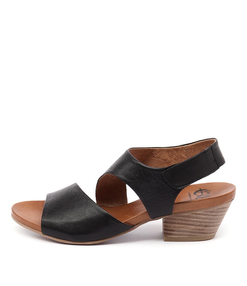 Eos Cuba W Black Sandals