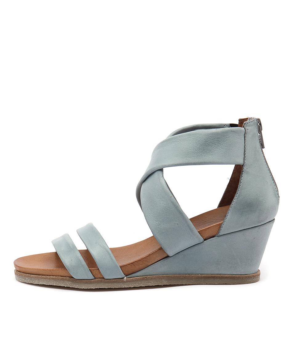 Eos Emin W Azzurro Heeled Sandals