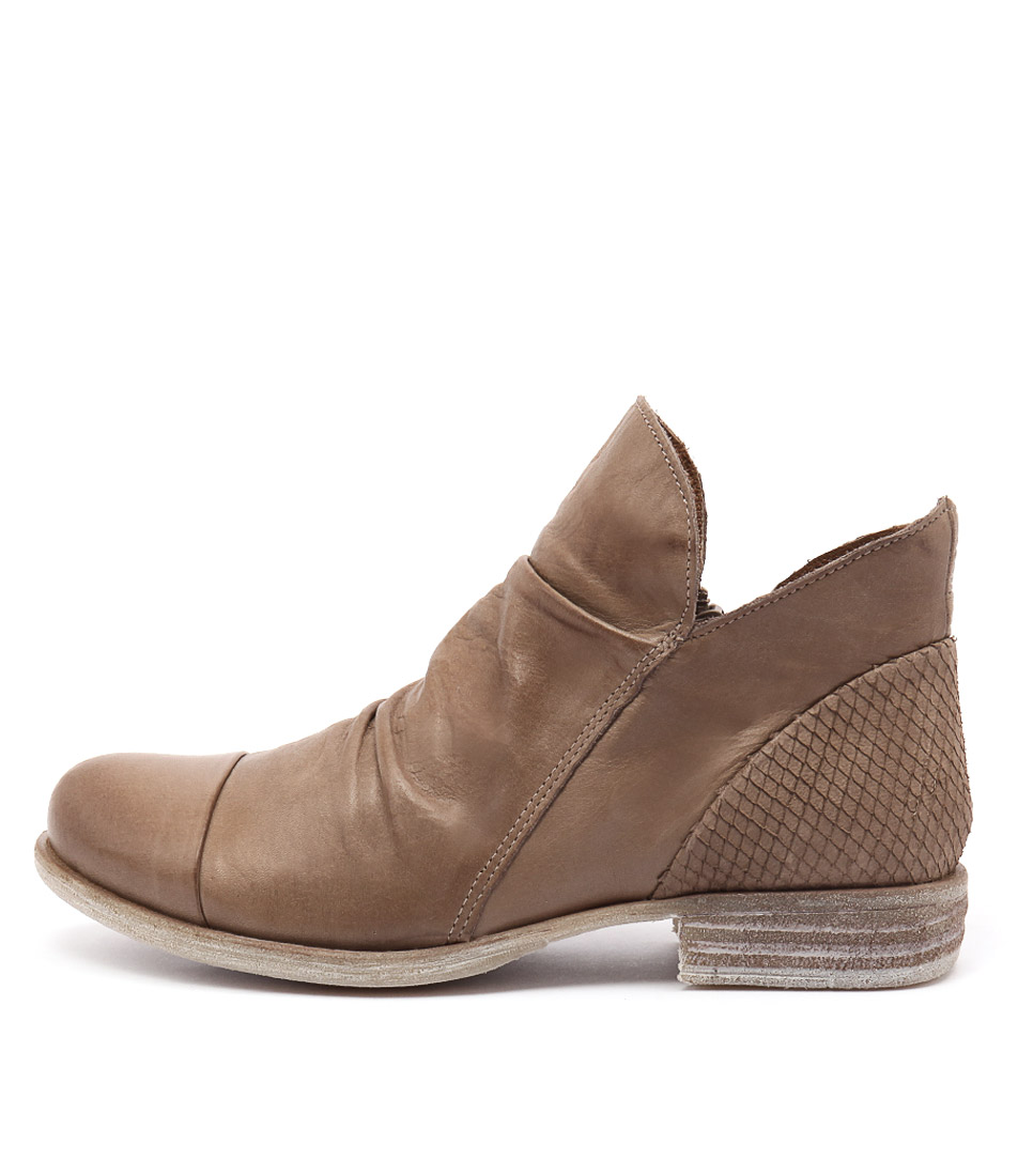 Eos Wilkin Taupe Casual Ankle Boots