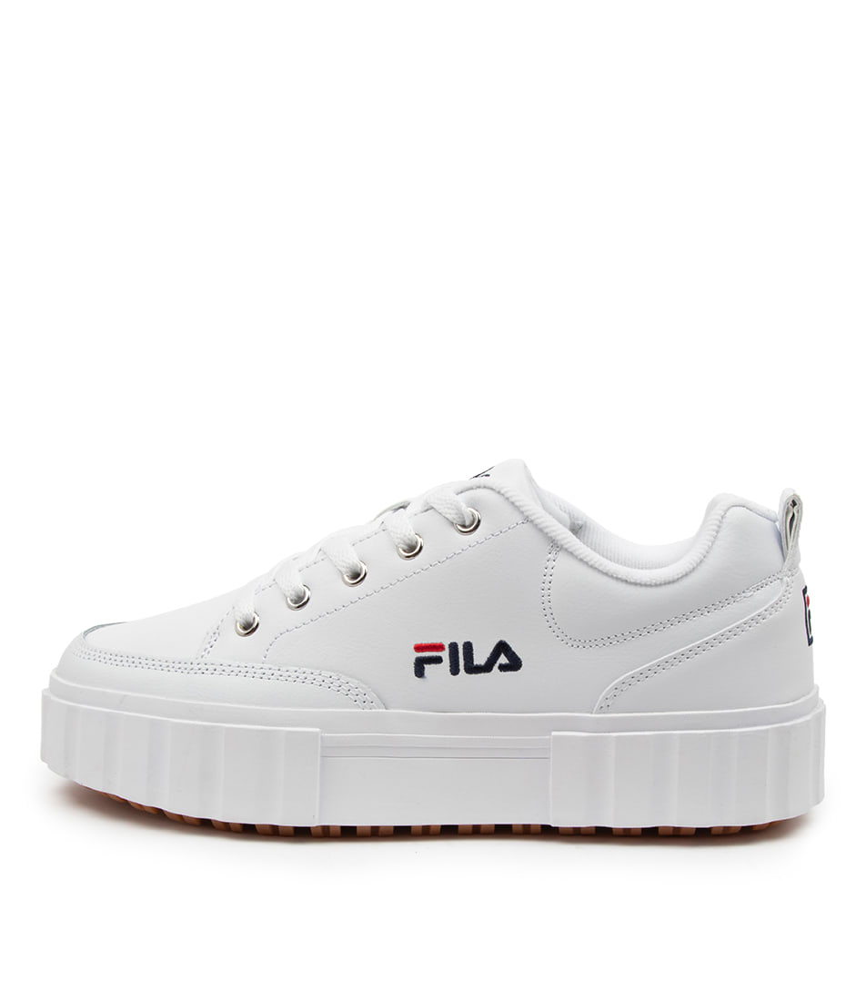 Buy Fila Sandblast Low Ff White Sneakers online with free shipping