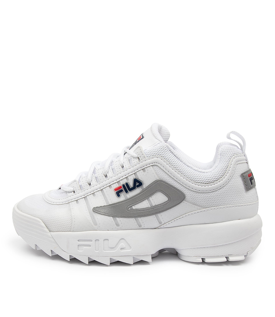Buy Fila Disruptor Ii Monomesh Ff White Sneakers online with free shipping