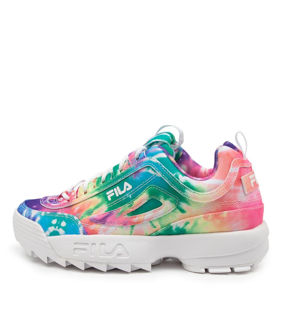 Buy Fila Disruptor Ii Tie Dye Ff Multi Sneakers online with free shipping