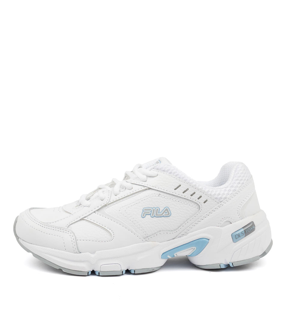 Buy Fila Memory Decimus 5 Ff White Blue Sneakers online with free shipping