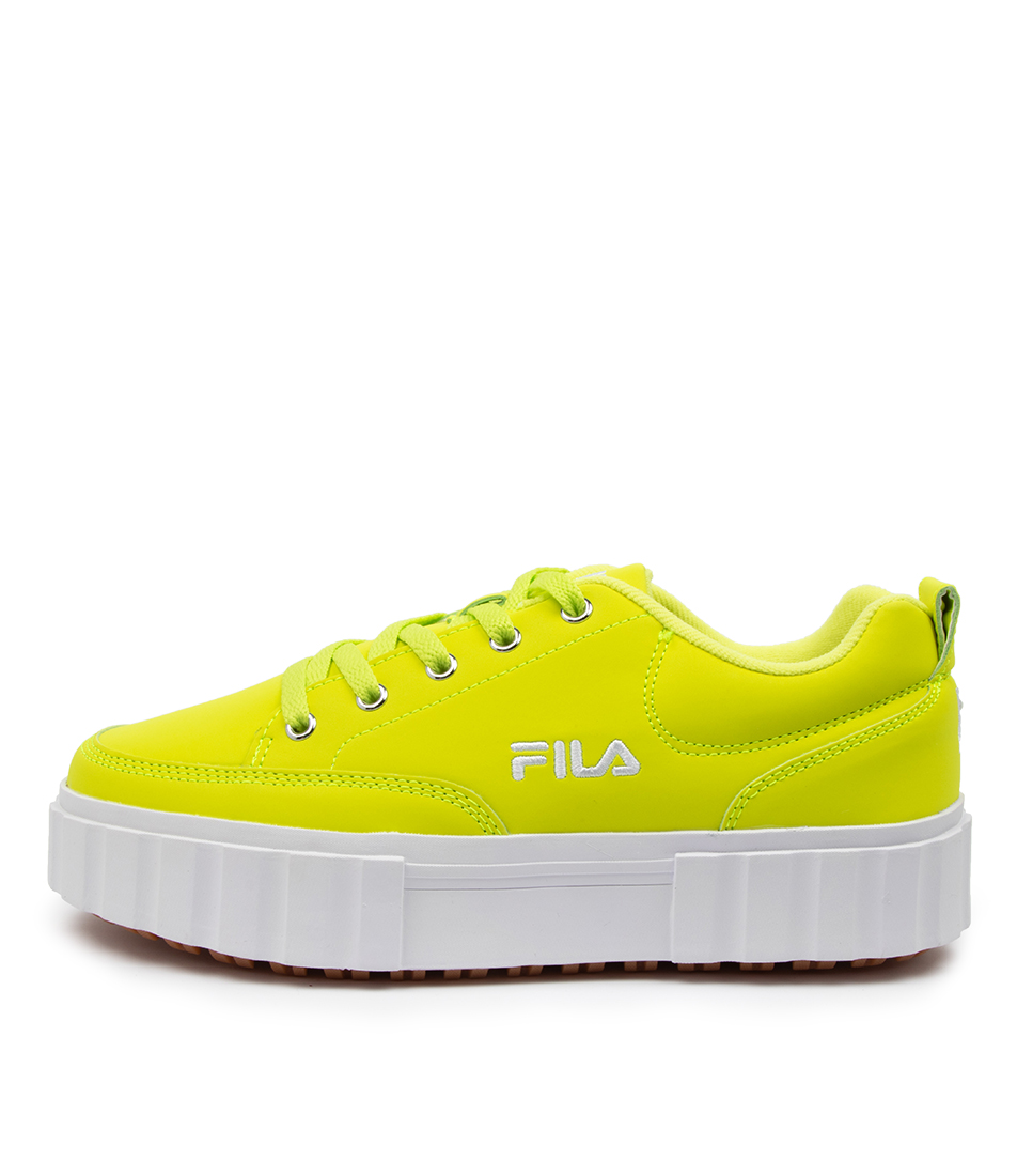 Buy Fila Sandblast Low Ff Dk Yellow Tan Sneakers online with free shipping