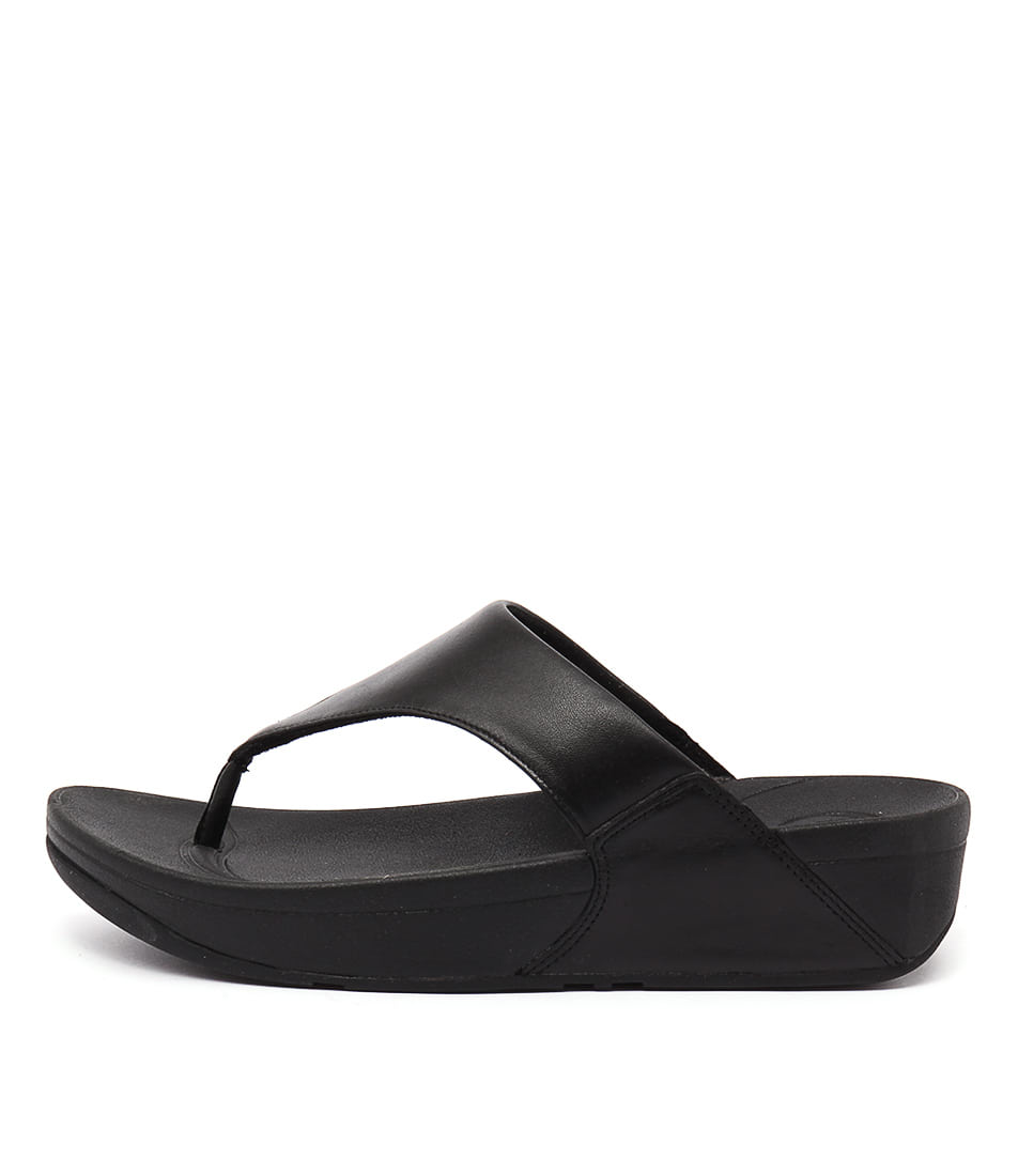 photo of Fitflop Lulu Black Casual Heeled Sandals online
