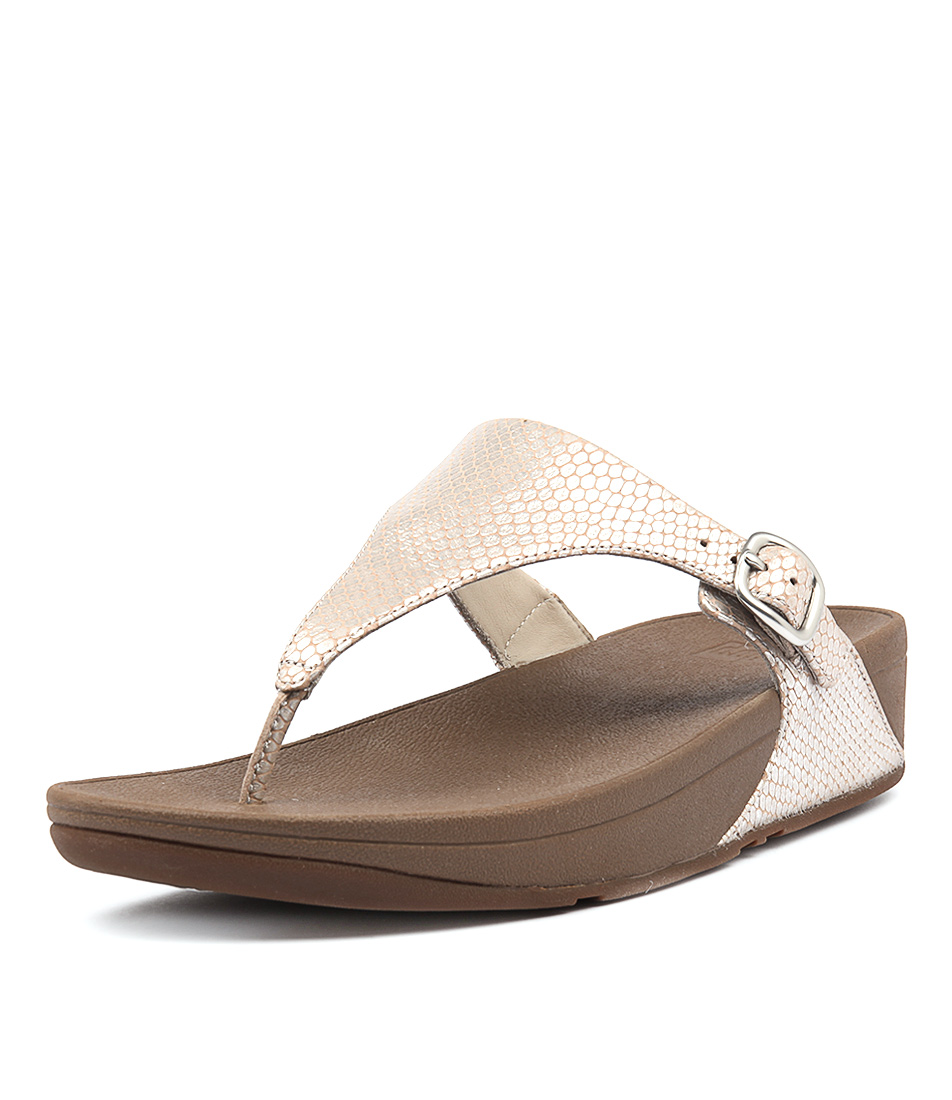 Fitflop The Skinny Silver Sandals