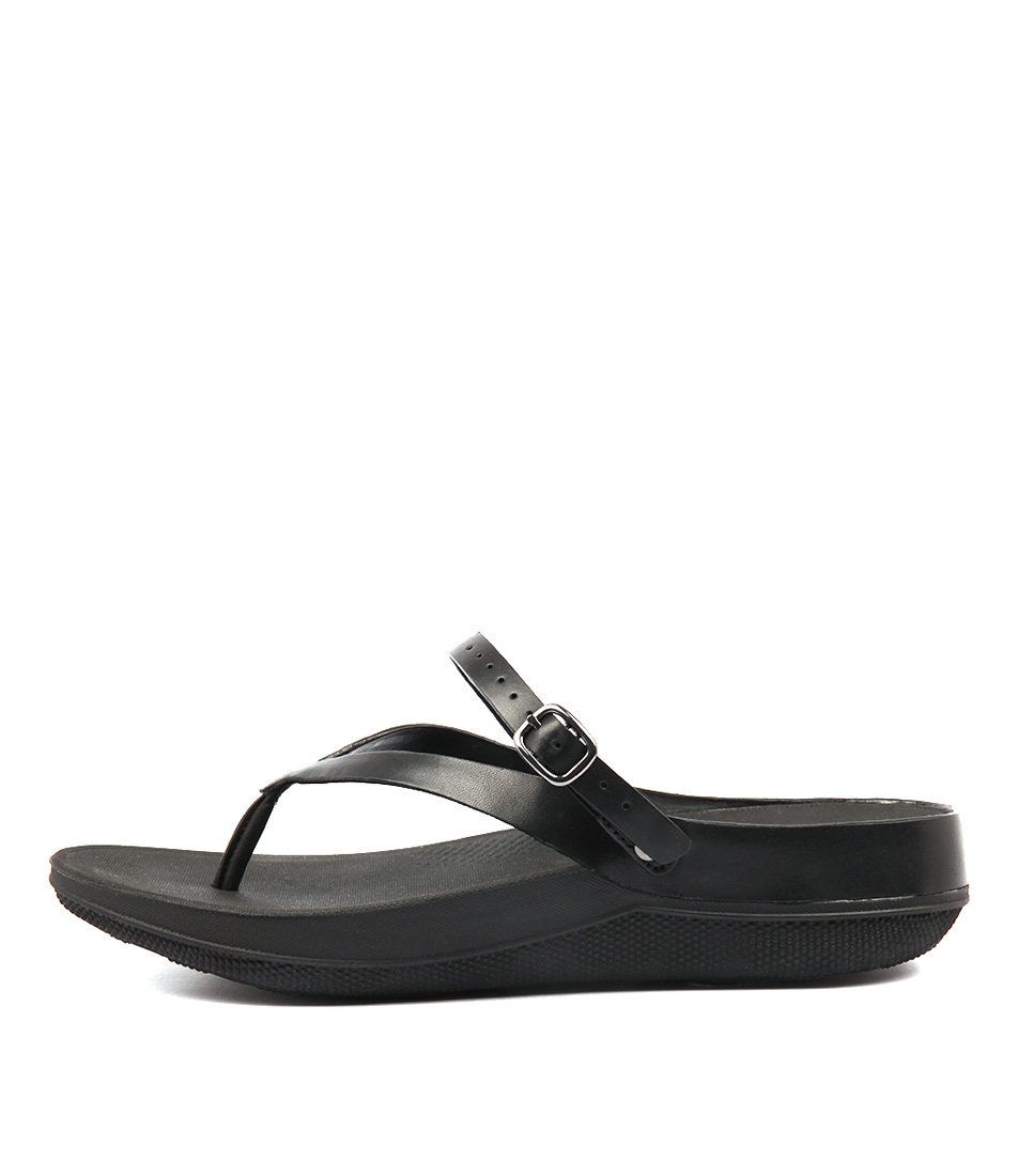 Fitflop Flip Sandal Black Sandals