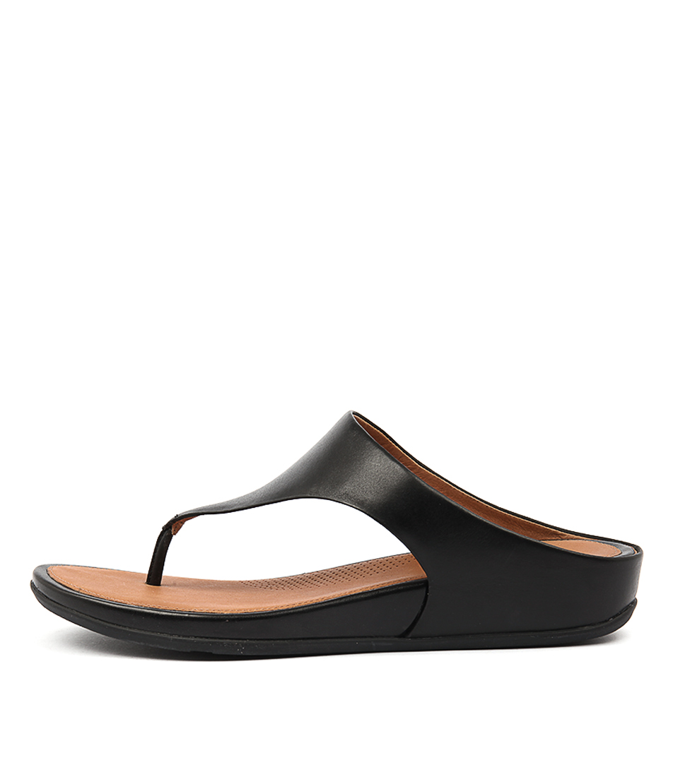 Fitflop Banda Black Sandals