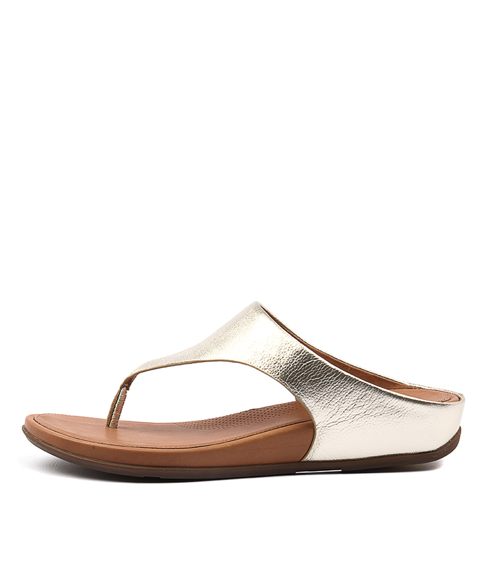 Fitflop Banda Pale Gold Sandals