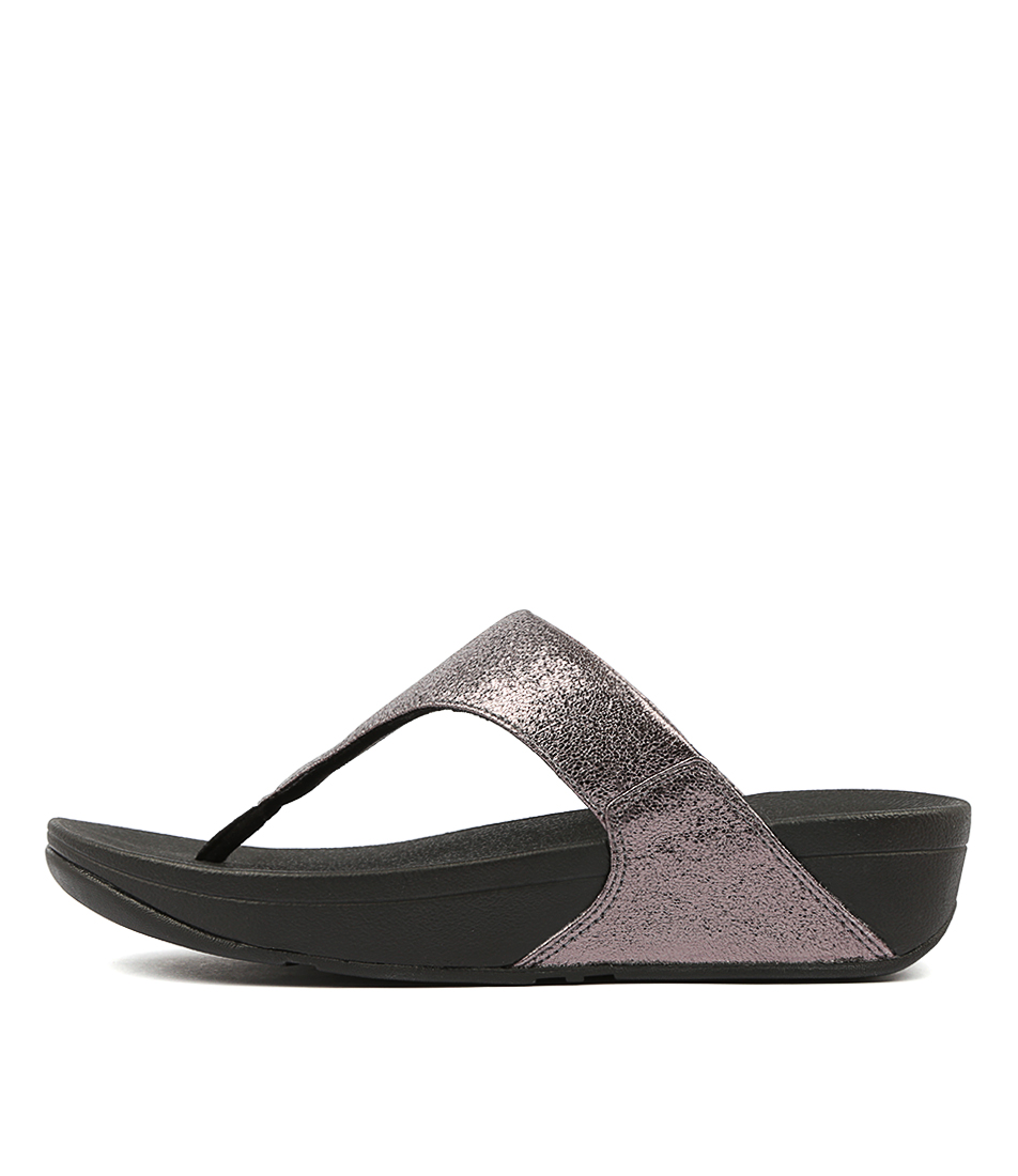 859c1a23873 Details about New Fitflop Lulu New Glitz Toe Thong Womens Shoes Comfort Sandals  Sandals Flat