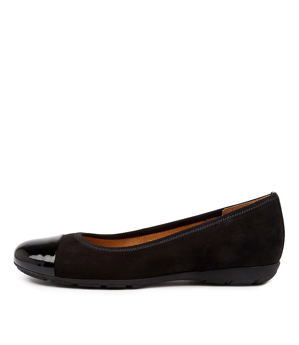 Buy Gabor Birgit Schwarz Flats online with free shipping