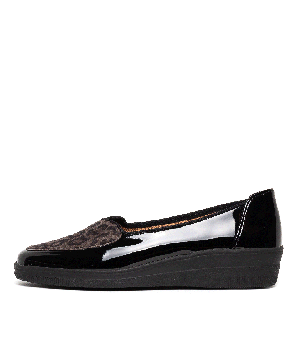 Buy Gabor Loren Schwarz Anthrac Flats online with free shipping