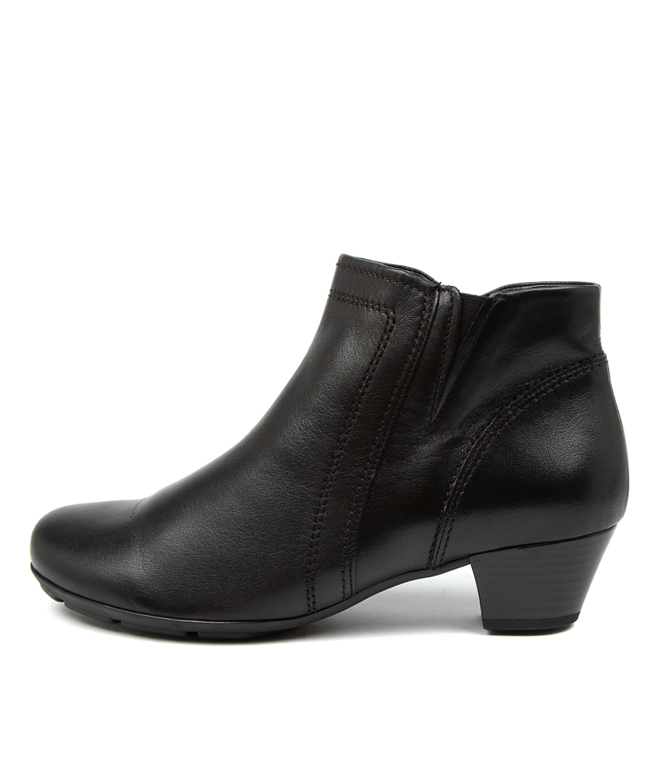 Buy Gabor Ophelia Schwarz Ankle Boots online with free shipping