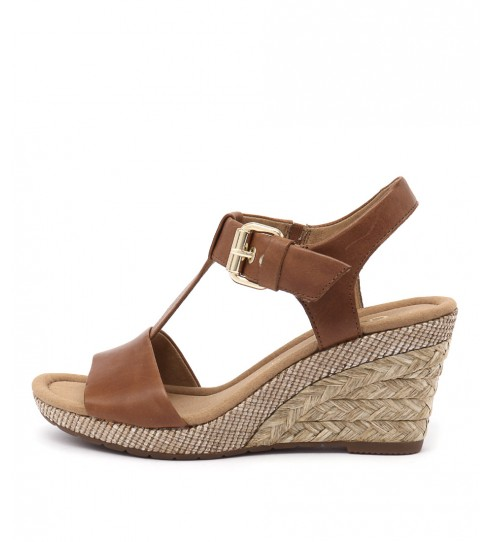 Buy Gabor Pia Peanut Casual Heeled Sandals online with free shipping