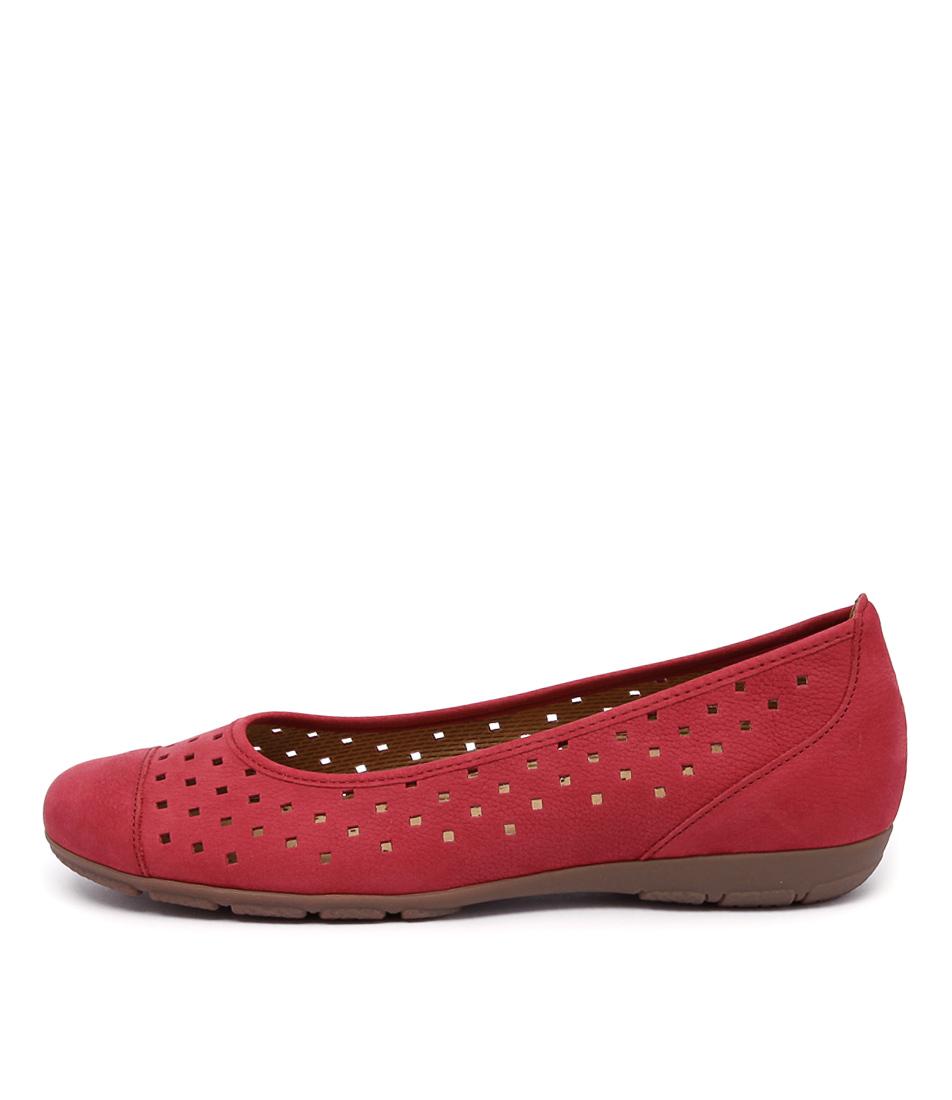 Gabor Skylar Rot Shoes