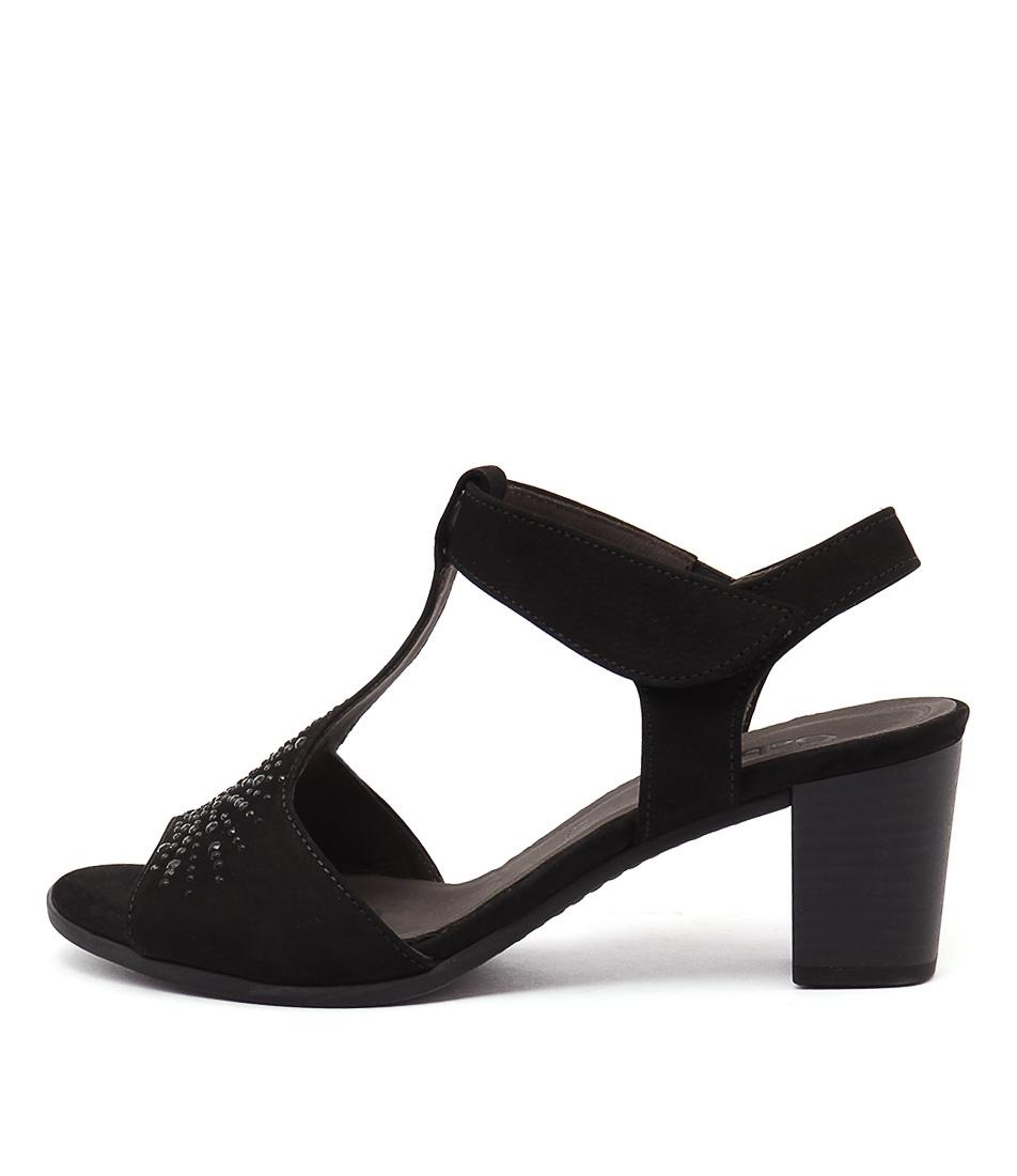 Gabor Starr Schwarz Sandals
