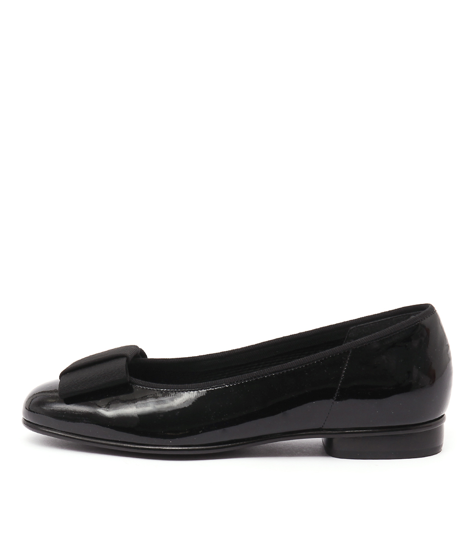 Buy Gabor Willow Schwarz Flats online with free shipping