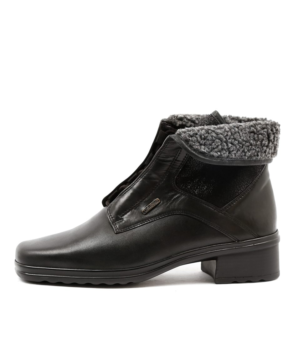 Gabor Zahra Schwarz Casual Ankle Boots