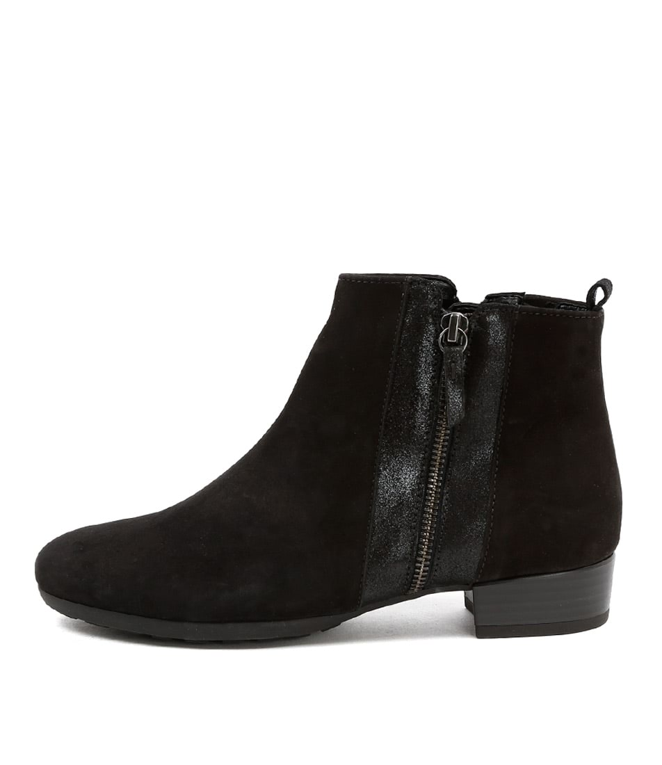 Gabor Harwich Schwarz Casual Ankle Boots